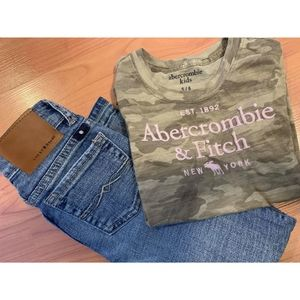 Abercrombie and Lucky outfit set